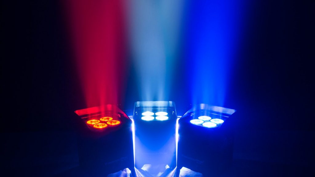Chauvet Freedom Par Quad 4 IP Wireless Uplighter