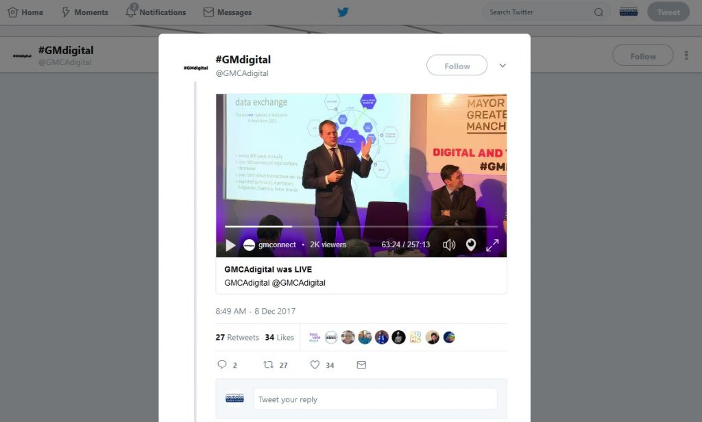 Twitter Live Event Web Streaming